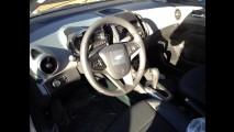 Leitor flagra Novo Chevrolet Sonic LTZ sem camuflagem - Veja o acabamento interno