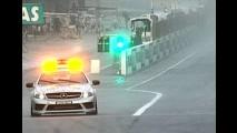 Fórmula 1: J. Button vence em prova encerrada pela chuva - Barrichello foi o 5° e Massa o 9°