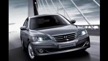 Hyundai Azera 2010 ganha reestilização visual na Coréia e também deve chegar ao Brasil