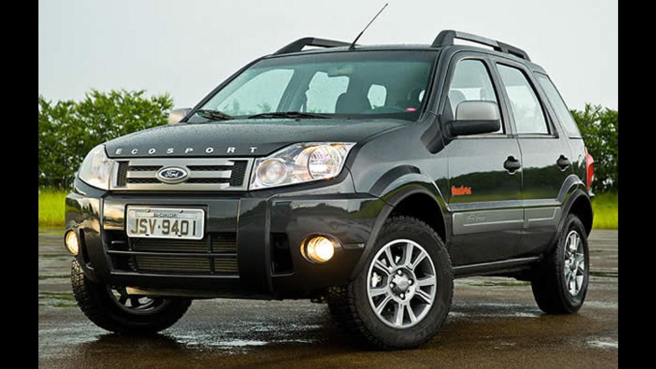 Ford EcoSport 2011: Revista Carro divulga fotos do modelo reestilizado