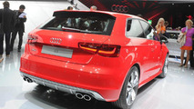 2013 Audi S3 live in Paris 27.09.2012