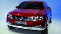 Volkswagen Cross Coupe concept with TDI plug-in hybrid debuts