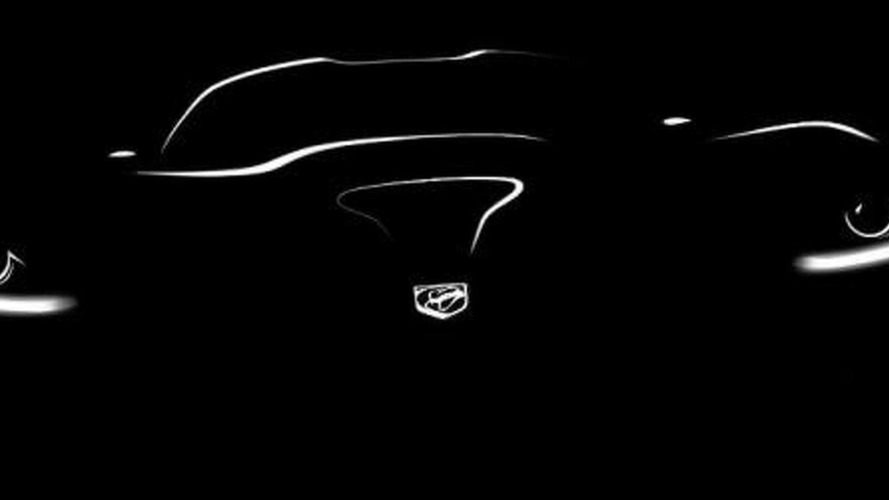 2013 SRT Viper teased on facebook