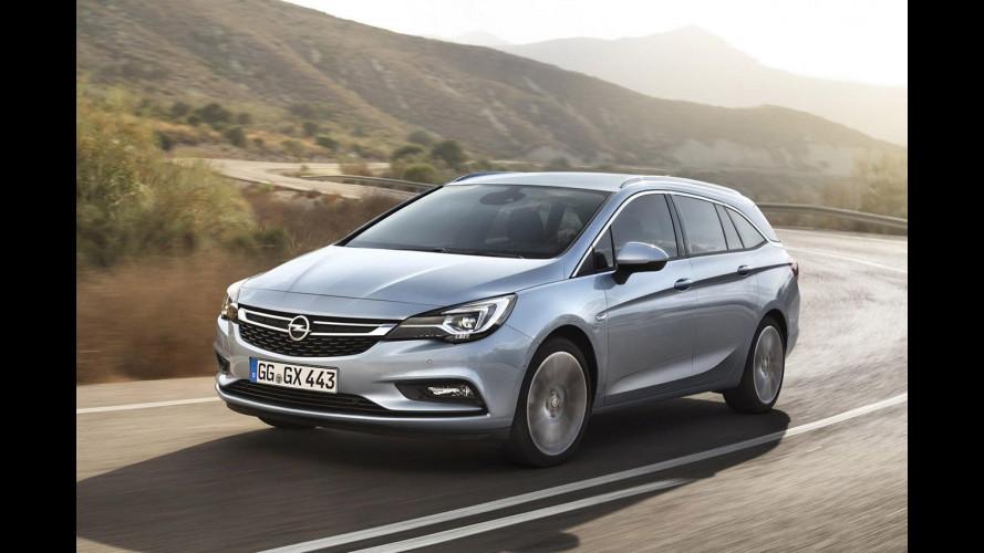 Nuova Opel Astra Sports Tourer, più tecnologica e leggera