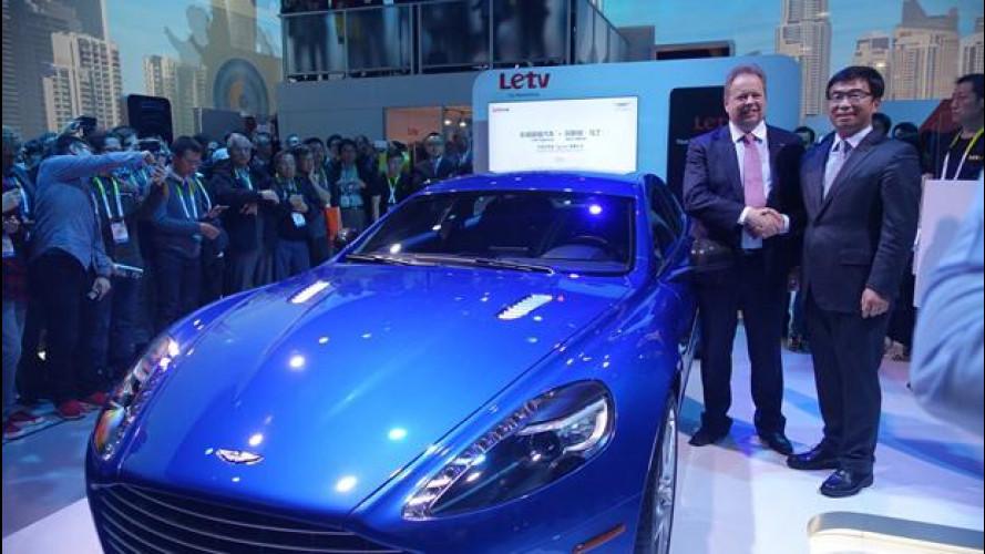 Aston Martin Rapide S, al CES diventa connessa