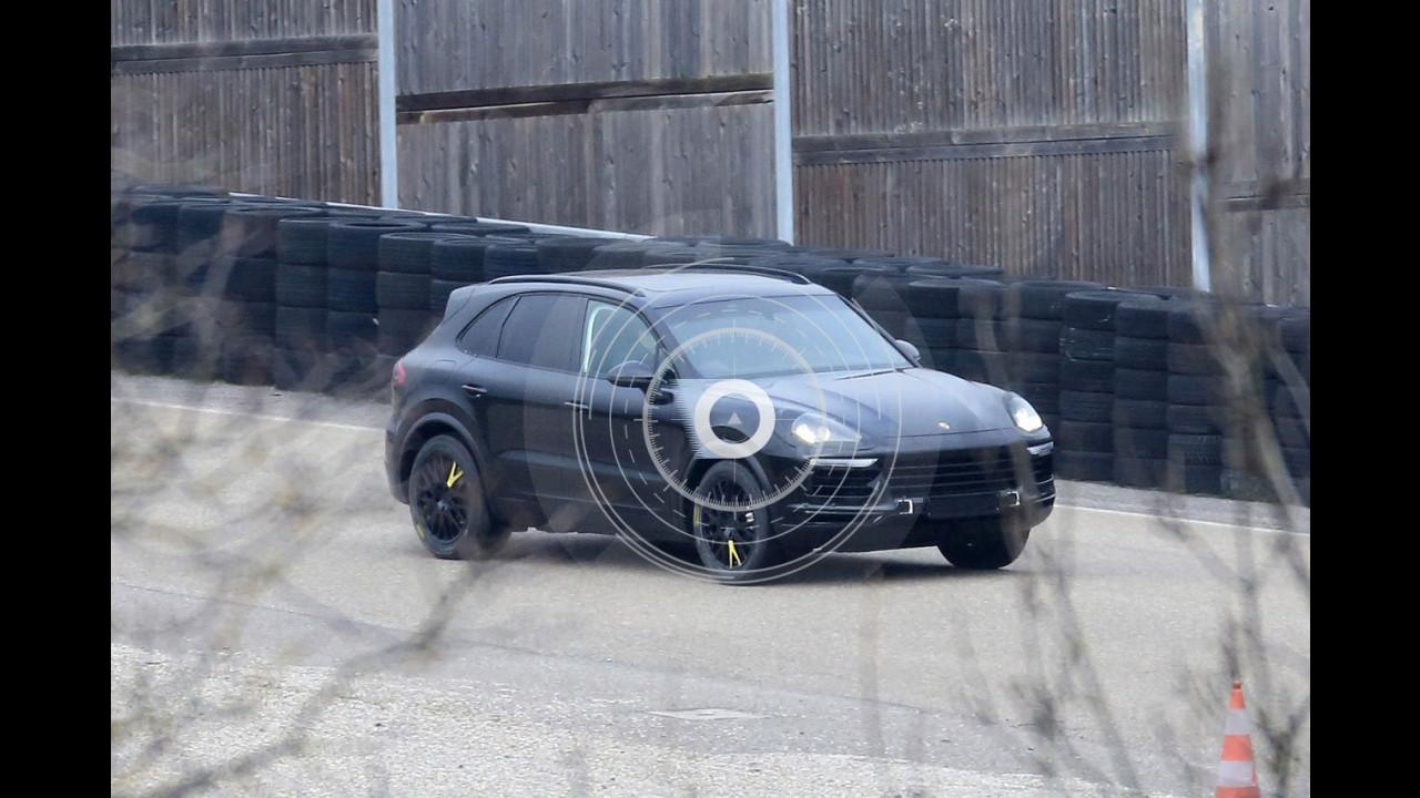 Porsche Cayenne, le foto spia