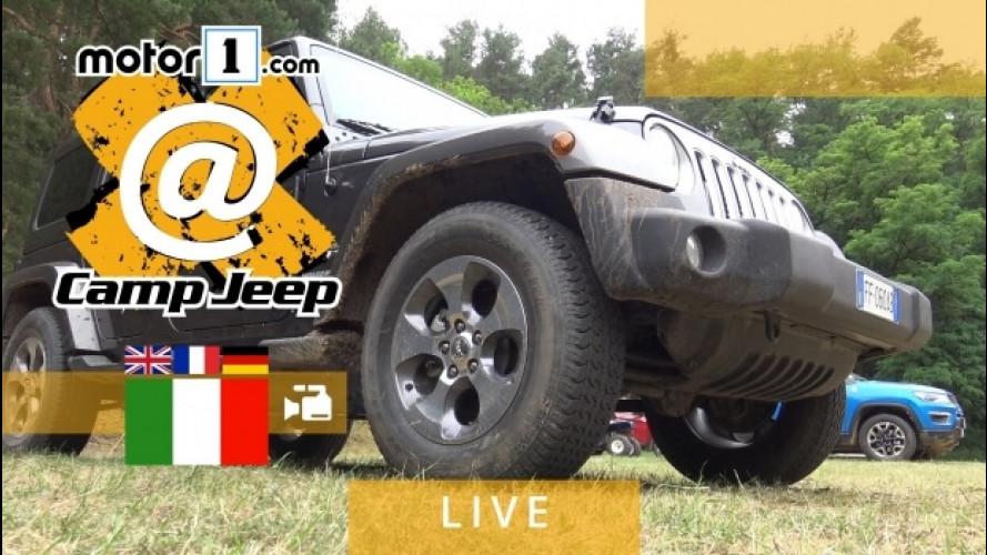 Camp Jeep 2017, le prime immagini dal maxi raduno di Berlino [VIDEO]