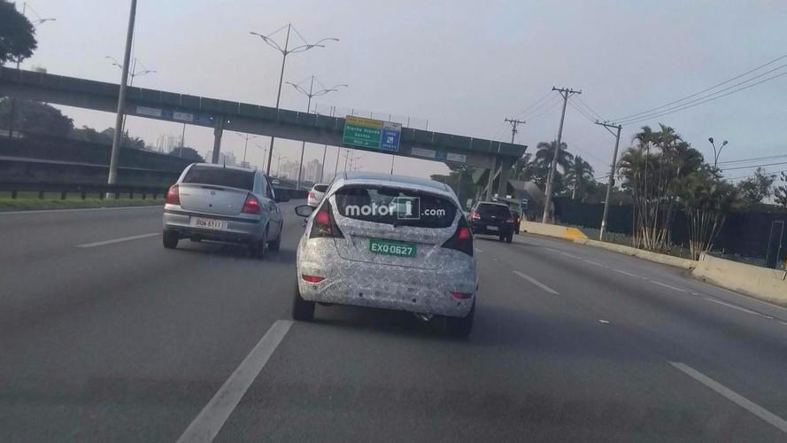 Ford Fiesta 2018 reestilizado
