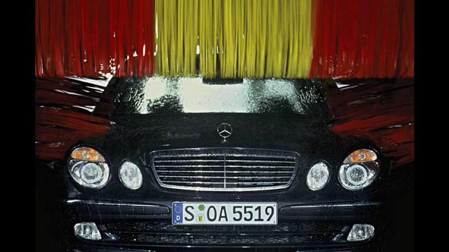 Nano-Lack sorgt für mehr Glanz bei Mercedes