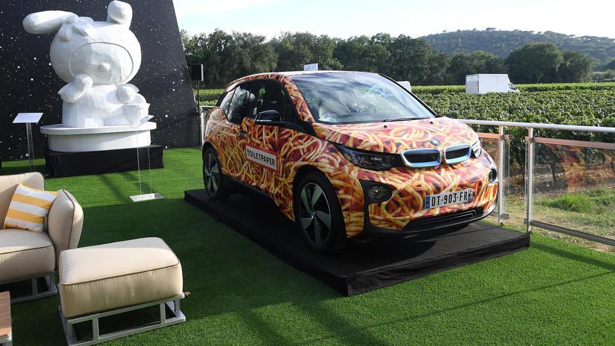 100'000 euros pour cette BMW i3 Spaghetti Car !
