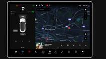 Tesla Model 3 pantalla