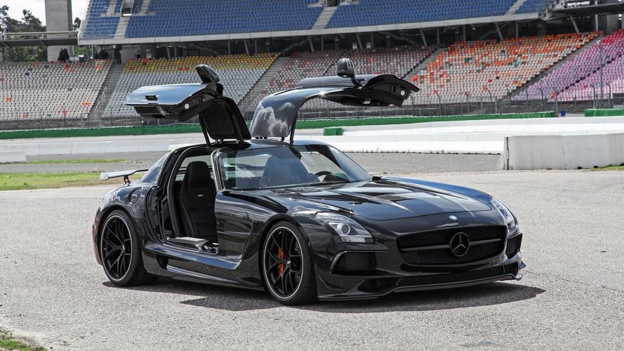 Mercedes SLS AMG par Inden Design
