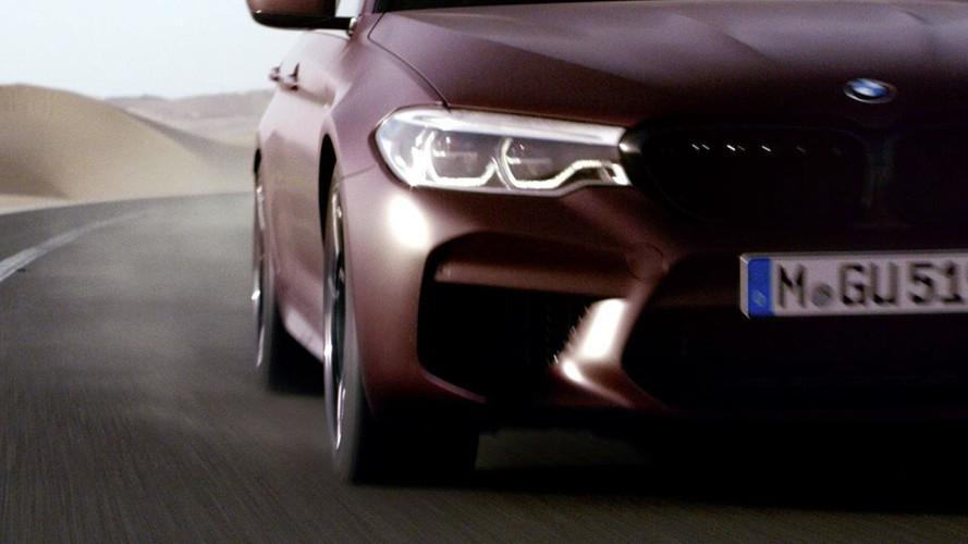 New BMW M5 Arrives August 21, Says Latest Teaser