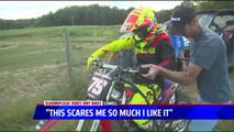 Michigan Quadriplegic Returns to Motocross