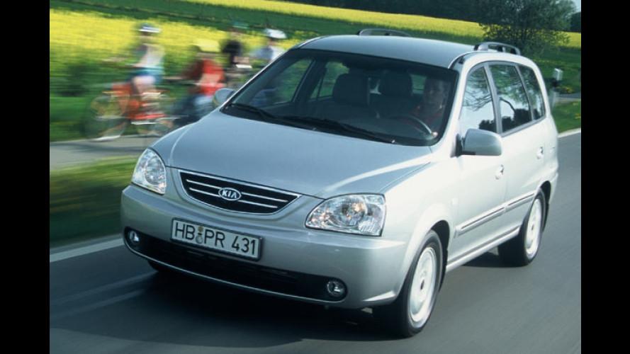 Kia Carens: Neuer 2,0-Liter-Benziner ersetzt 1,8-Liter-Motor