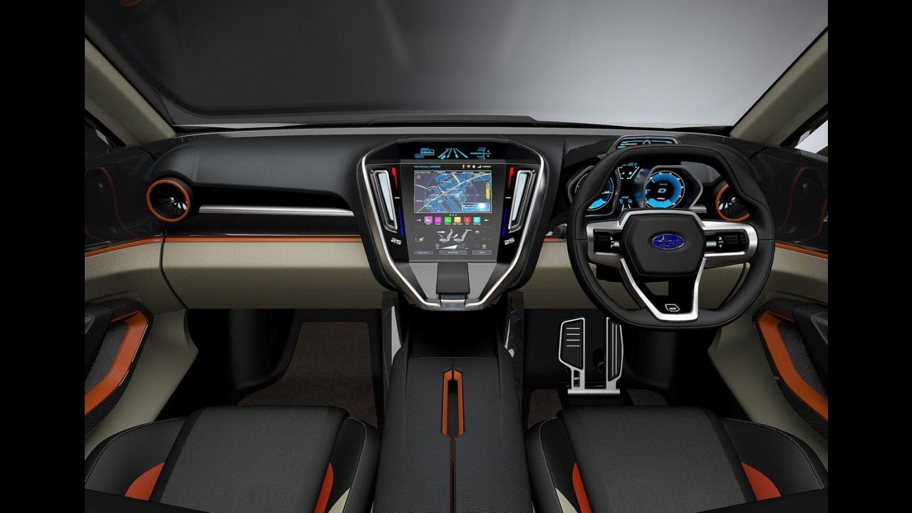 Subaru Viziv Future Concept antecipa visual do próximo Forester