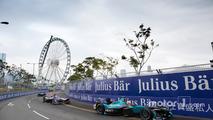 Nelson Piquet Jr., NEXTEV TCR Formula E Team; Sam Bird, DS Virgin Racing