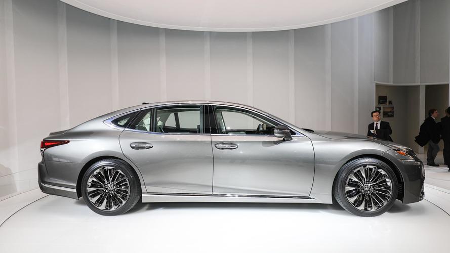 2018 Lexus LS brings new V6 biturbo to the world