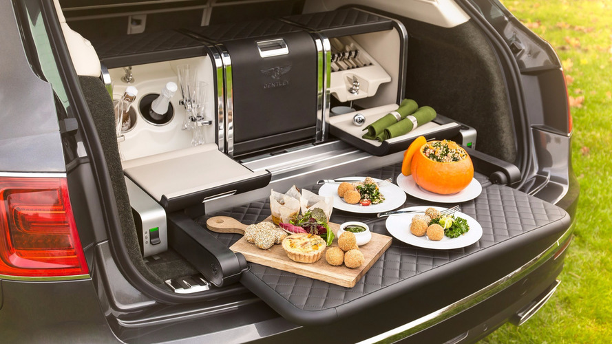 Ultra-posh Bentley Bentayga now comes with an ultra-posh picnic