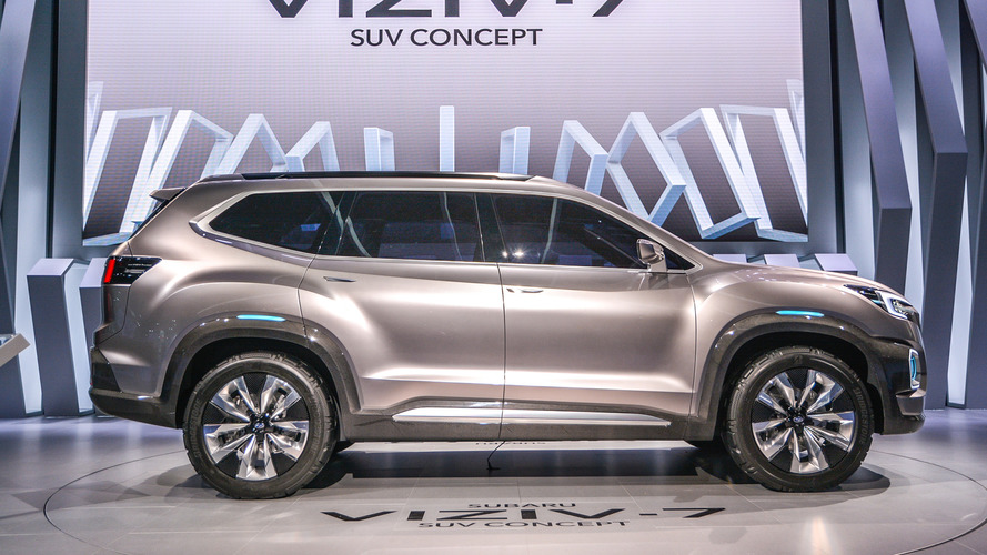 Subaru Viziv-7 Concept is ready to shrug off VW Atlas