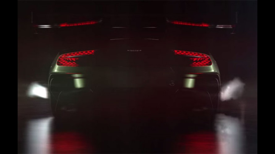 Rugindo! Aston Martin divulga teaser do Vulcan, rival do McLaren P1 - veja vídeo