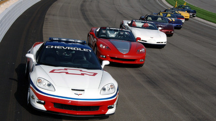 Check Out The 15 Times The Chevy Corvette Has Paced The Indy 500