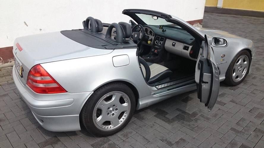 6 millió forintért cserélt gazdát Schumacher egykori Mercedes-Benz SLK modellje