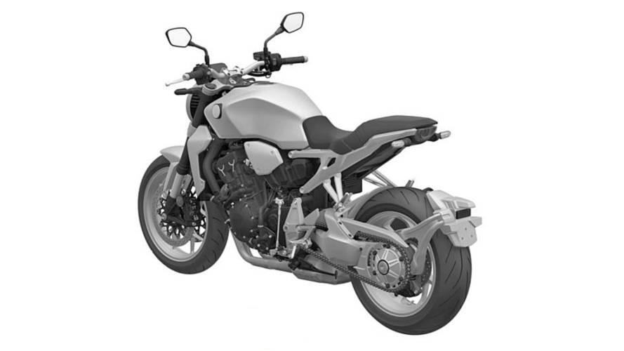 Honda CB1000 - Registro no INPI