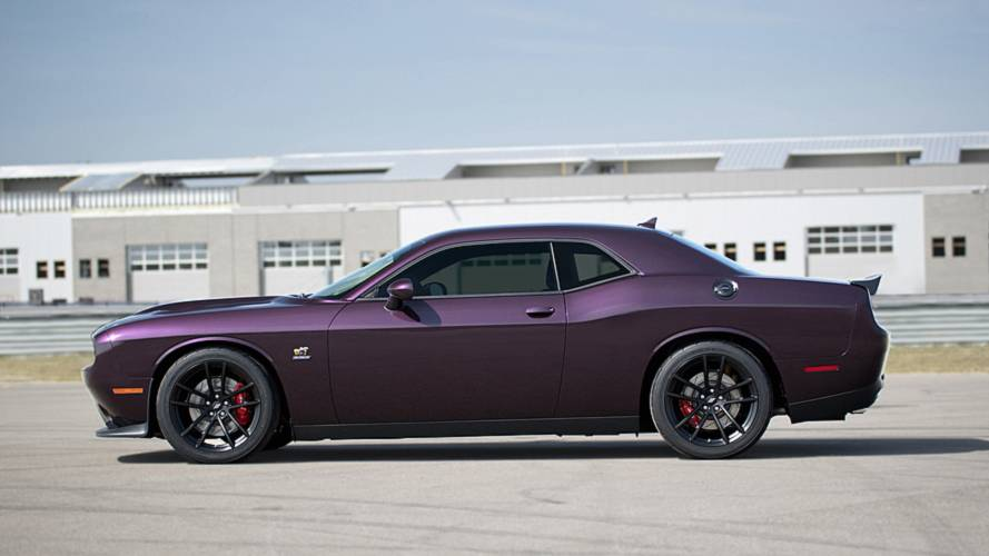 Dodge Challenger R/T Scat Pack Possessed By Demon For New 1320 Trim