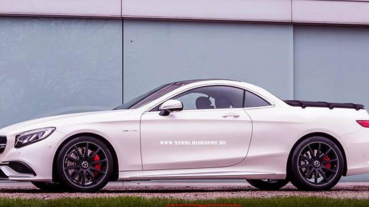 Mercedes-Benz S63 AMG Pickup render