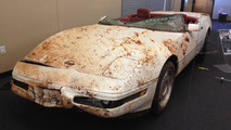 National Corvette Museum retrieved first three damaged Corvettes