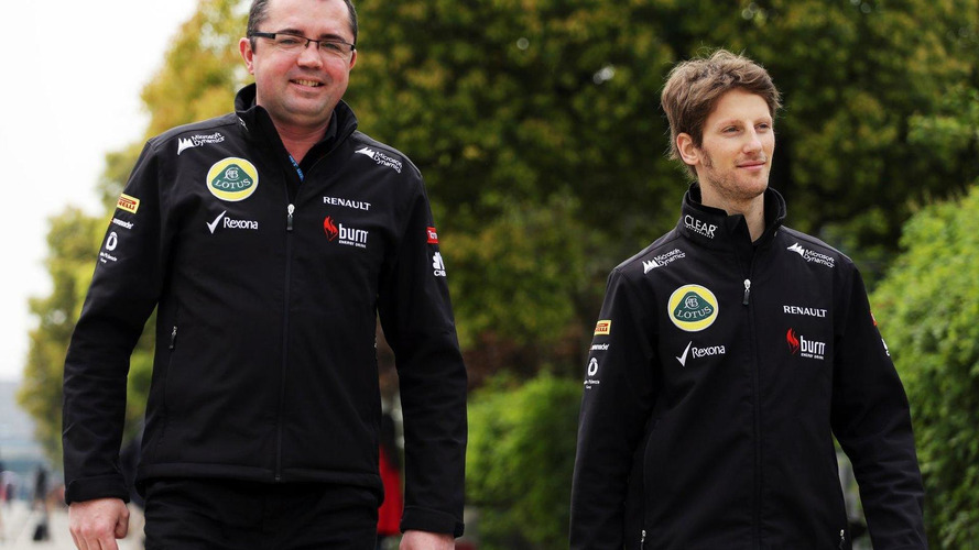 Boullier says Grosjean 'has F1 future'