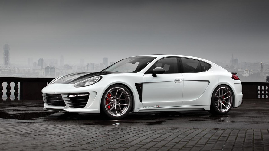 TopCar updates Porsche Panamera Stingray GTR kit with new aero package