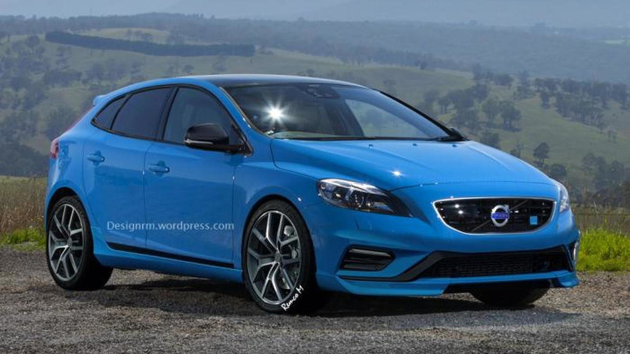 Volvo V40 Polestar gets rendered