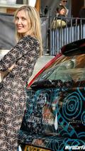 Fiat Grande Punto with Allegra Hicks