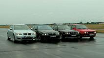 BMW M5 dört nesil
