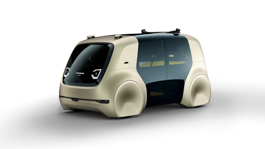 VW Sedric concept has no steering wheel, pedals, or driving seat