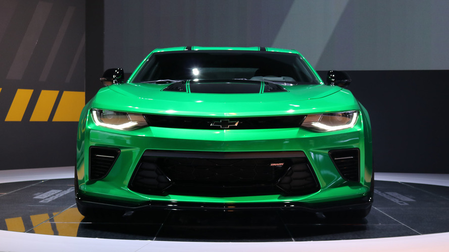 Chevy Camaro Track concept brings more performance to Geneva