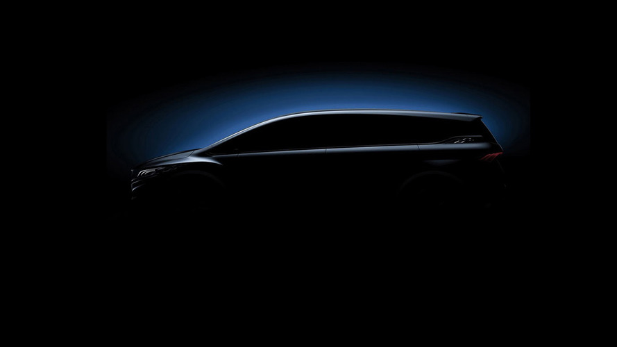 Geely MPV concept teaser image