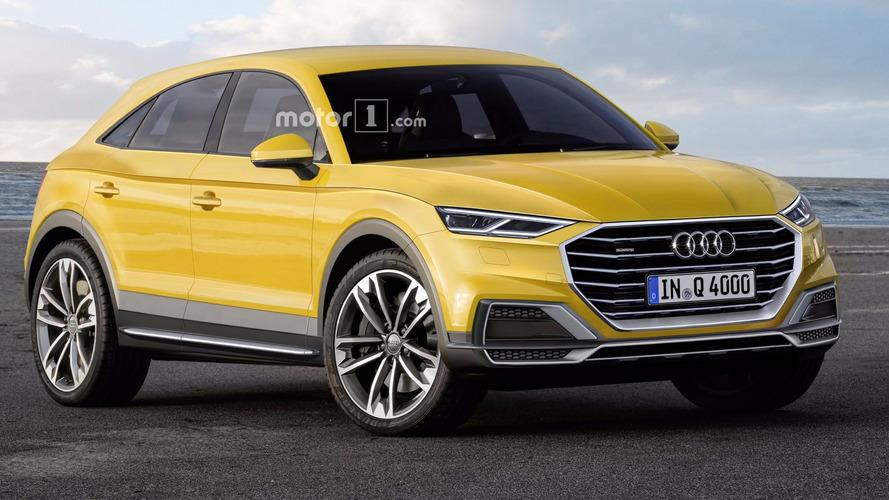 Un premier rendu pour la future Audi Q4