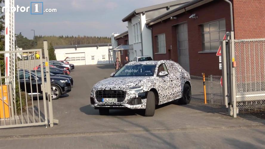 Audi Q8 vidéo espion