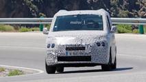 Peugeot Partner 2018, fotos espía