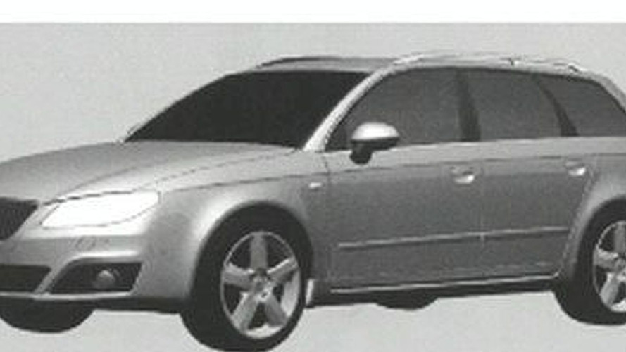 2010 Seat Exeo Leaked Images Reveal Design Shape