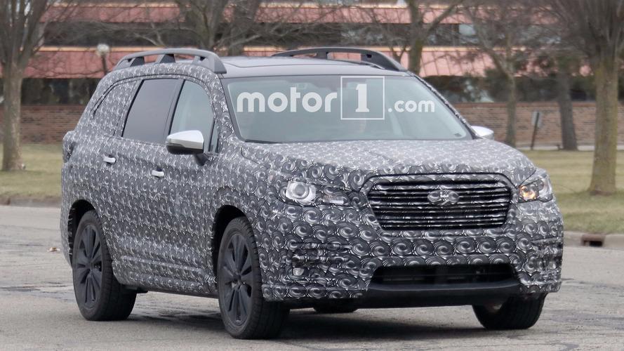Caught: Subaru's New Three-Row Crossover Totally Exposed In Spy Shots