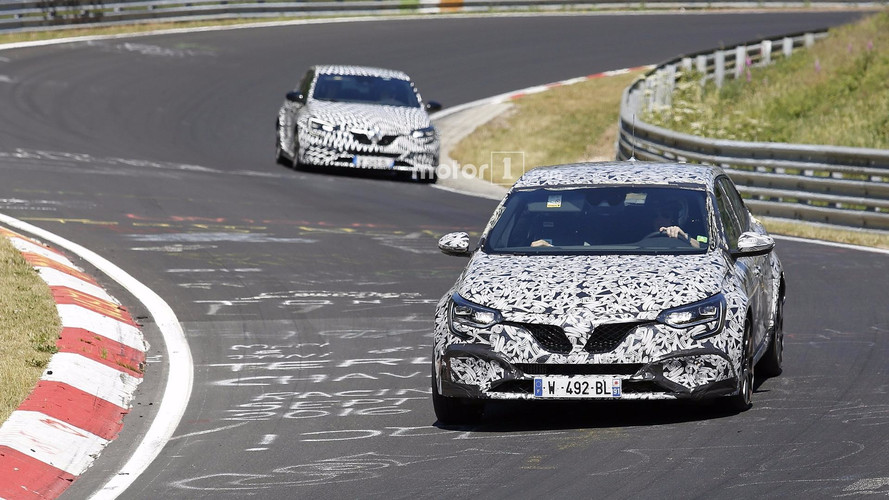 2018 Renault Megane RS Spied At The Nürburgring