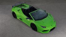 Lamborghini Huracan Spyder wide body by Novitec