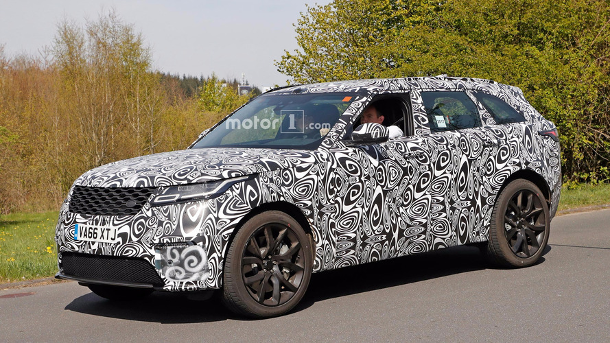SVR-Tuned Land Rover Range Rover Velar Spied At The Ring