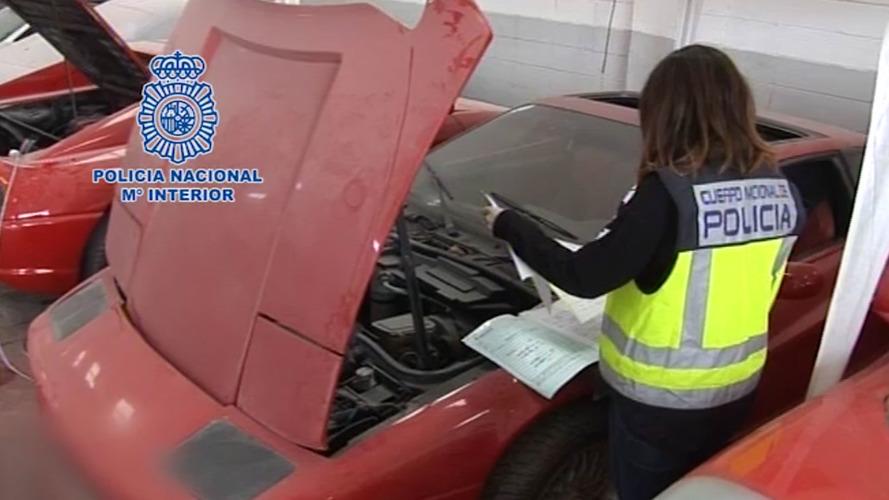 Police raid fake Ferrari factory