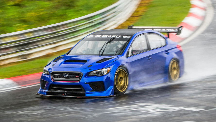 How A Soaking Wet Nürburgring Kept Subaru From Making History