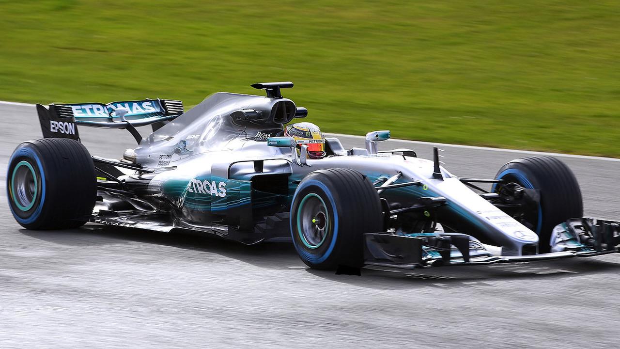 Mercedes W08 F1